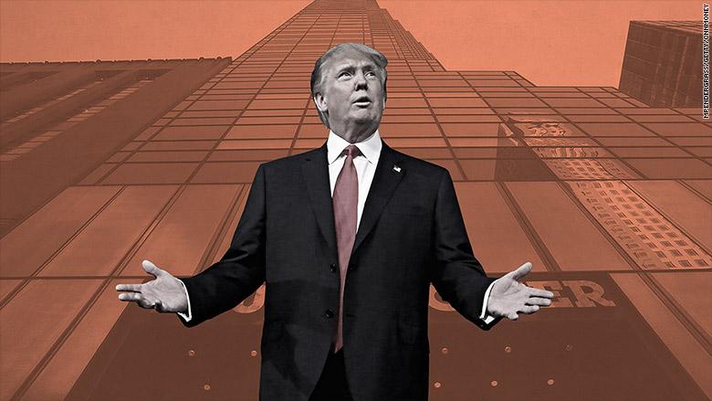 Broke Donald Trump